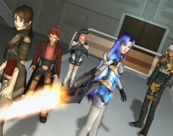 Xenosaga Character Design : Rpgland game preview xenosaga ii